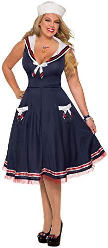 Kostüm Sailor Ahoy - Forum Ahoy Damen Kostüm Lady Plus