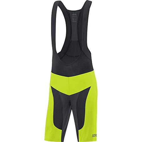 Gore Wear Herren GORE C7 Pro 2in1 Kurze Trägerhose, Citrus Green/Black, S