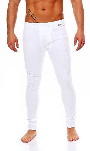 Unbekannt - Pantaloni termici -  uomo Bianco