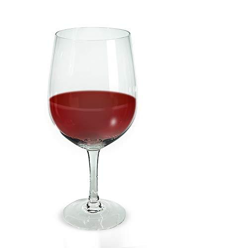 Monsterzeug Riesen Weinglas, gigantisches XXL Wein Glas 0,75 Liter Fassungsvermögen,...