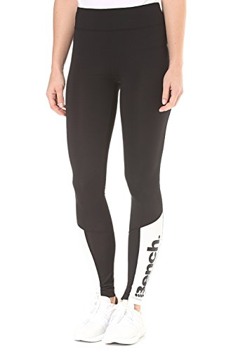 Bench Leggins Leggins mit kontrastfarbenen Details Black Beauty M