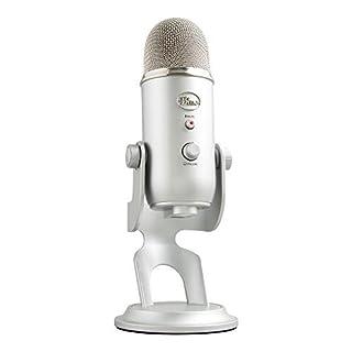 Blue Microphones 836213000000 Yeti USB Mic Microphone Silber