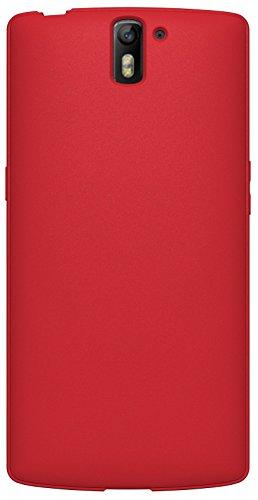 Diztronic Full Matte Flessibile Custodia per OnePlus One, Rosso