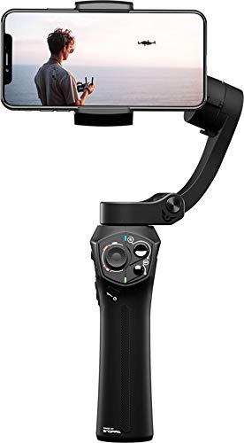 SNOPPA ATOM Stabilizzatore Pieghevole a 3 Assi per Smartphone, ricarica wireless, compatibile con GoPro 4/5/6, supporta fino a 310gr!