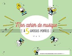 Cahier Musique Enfant 5 Portees