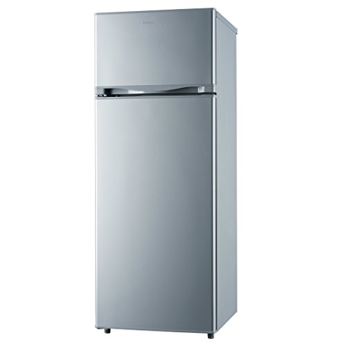 Haier HRFK-250DAAS Freestanding 206L A+ Silver fridge-freezer - Fridge-Freezers (206 L, ST, 42 dB, 2 kg/24h, A+, Silver)