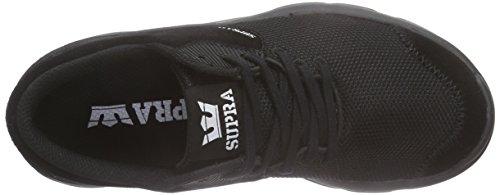 Supra Noiz, Sneakers Basses mixte adulte Noir (BLACK / BLACK - BLACK BBB)