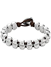 Uno de 50 Women's Bracelet-Metal mix Silver Polished PUL0467MTX