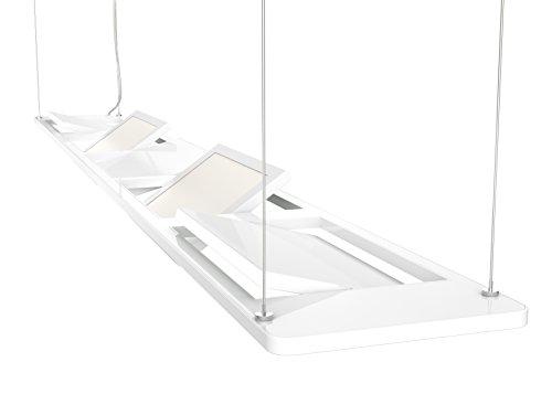 Osram 73244 Silento Lungo - Plafoniera a sospensione a LED, 18 W 230 V, colore: Bianco