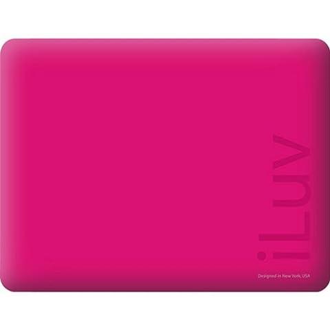 iLuv iCC801 PNK Housse de protection souple en silicone pour iPad Rose