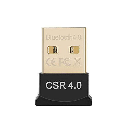 MHMING Bluetooth V4.0 USB Adapter Plug & Play für Windows 10/8/7/Vista/XP