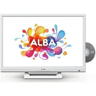 Alba 24 Inch HD Ready LED TV/DVD Combi with Freeview - White