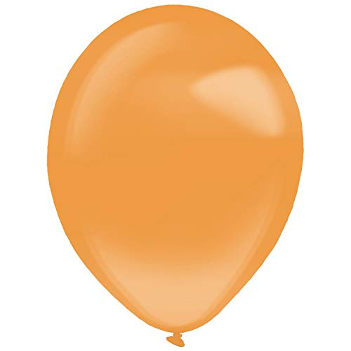 amscan 9905386 50 - Globos de látex, Color Naranja