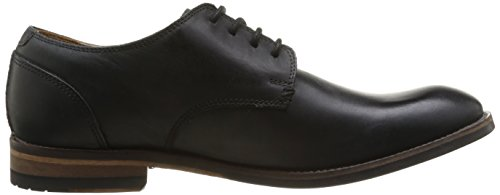 ClarksExton Walk - Scarpe stringate Uomo Nero (Black Leather)