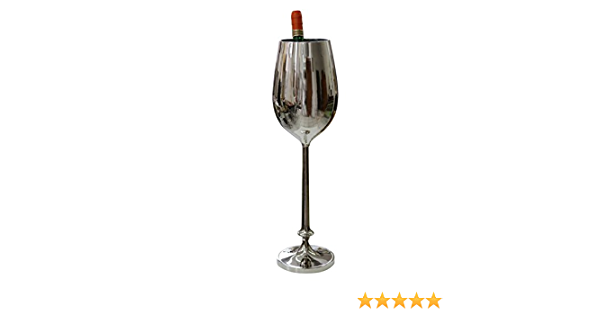 Hemoton Seau /à Champagne en Acier Inoxydable Seau /à Glace Seau /à Glace /à Champagne Refroidisseur /à Vin 5L Dor/é