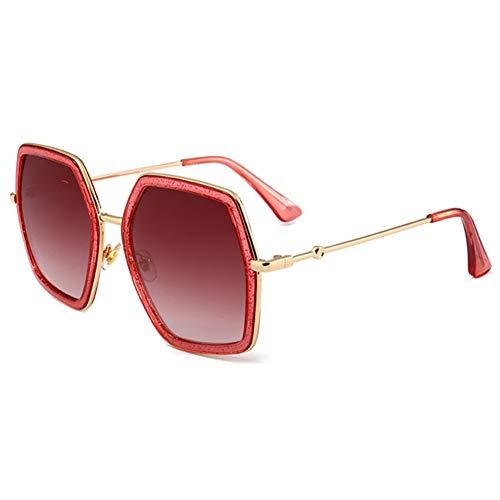 sijiaqi Unisex SonnenbrilleFrauen-grüne neueste Sonnenbrille strahlt quadratische Farbton-Sonnenbrillen aus,Style 2