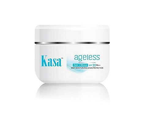 Kasa Anti Wrinkle Day Cream Deep Moisturizing with Sun Protection, [50gms] Good in Dry conditions