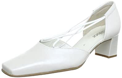 Gabor Shoes 4548160, Damen Pumps, Weiß (off-white+Absatz), EU 42 (UK 8) (US 10.5)