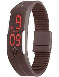 daf217c811b5 Reloj electrónico de Pulsera para niños con Correa de Silicona Suave LED  Touch Sports