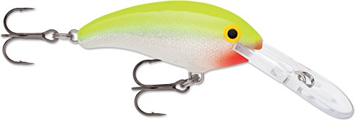 Rapala Shad Dancer, Silver Fluorescent Chartreuse