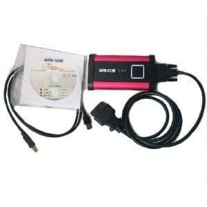 Qualité B AUTOCOM PRO + pour Cars & Trucks & 3 Générique en 1 avec jeu complet de câbles pour camions