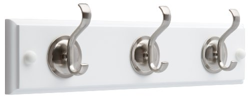 Liberty 35,6 cm Hakenleiste mit runder Basis Mantel und Hut Haken, - Haken Mit Rack Coat Regal