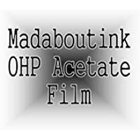 A3 OHP Acetato Transparencia Film Para Las Impresoras De Inyección De Tinta 20 Hojas