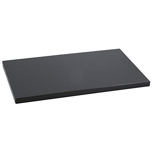Metaltex 73502038 Table en polyéthylène, 50x30x2cm, Noir