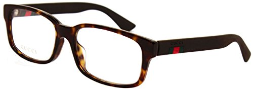 Gucci Fassung Brille Glasses GG0012OA 002 Etui