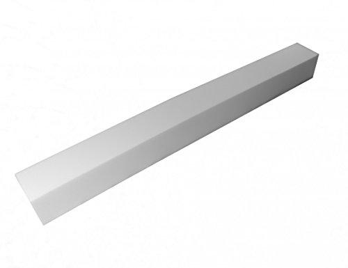 Manufaktur Schaumstoffe Wegerich Matratzenverlängerung aus Schaumstoff RG 35 200x10x10cm ohne Bezug -