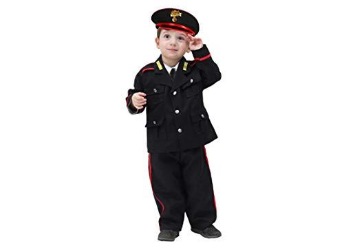 pega sus 2007 - Costume da Agente Carabiniere per Neonati Varie Taglie (19/24 Mesi)