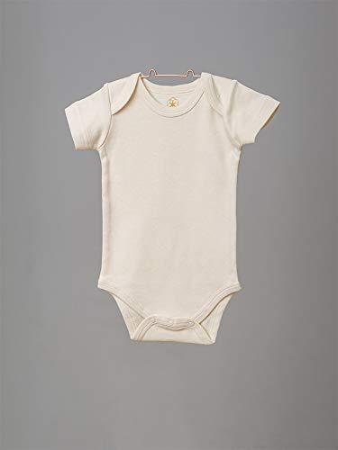 Organic by Feldman Unisex Baby Body Kurzarm aus Bio Baumwolle, GOTS Zertifiziert, Schönheit der Natur (50/56) - 3