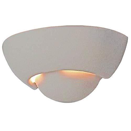 Gipswandleuchte Ø 29cm | Wandleuchte E27 | Wandlampe inkl. Leuchtmittel | Moderne Gipslampe |...