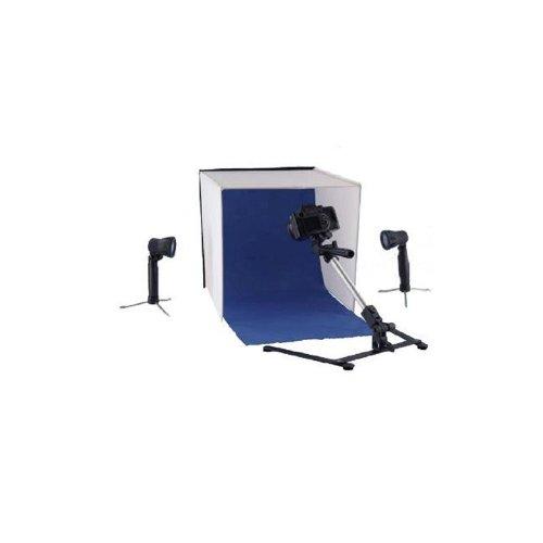 Falcon Eyes Faltbarer Aufnahmebox PBK-40AB-2LS 40x40 cm + 2 x 50W Lampen