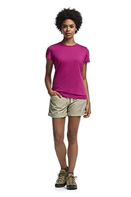 Icebreaker Damen Kurzarm T-Shirt Tech Lite Shortsleeve Crewe von Icebreaker - Outdoor Shop