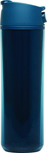 Aladdin 32372 Flip und Sip Gobelet Isotherme Bleu Marine 0,47 l