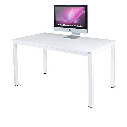 Need Computertisch Schreibtisch 100x60 cm PC Tisch Bürotisch Arbeitstisch Esstisch in Weiß für Home Office, AC3DW-100-N