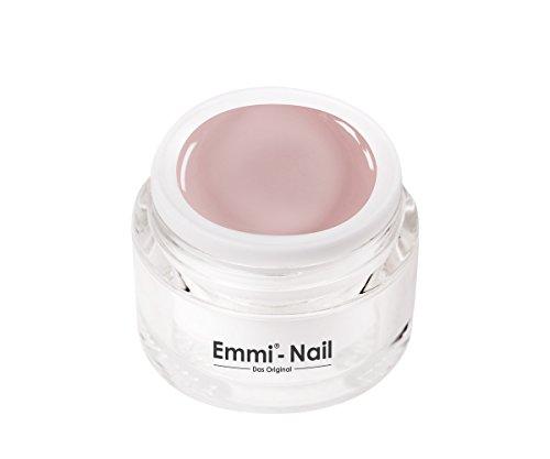 Emmi-Nail Farbgel Pale Dogwood: UV-Gel für glänzendes Finish, hohe Deckkraft, helles Rosa, mittelviskos, kein Verlaufen in die Nagelränder, 5 ml (Farben Nagellack Helle)