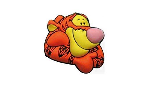 crocs Tigger Face Ornament-Clog Unisex Kinder, Mehrfarbig, Einheitsgröße