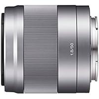 Sony SEL50F18 - Objetivo para Sony (distancia focal fija 75mm, apertura f/1.8-22, estabilizador) plata