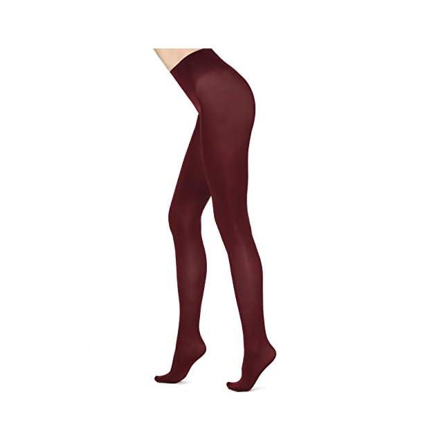 Merry Style Collant Opaque Lisse Microfibre Vêtements Femme 70 DEN ·  Calzedonia Femme Collant en Microfibre opaque 50 Deniers Toucher Doux ... 8d4e1e0af23