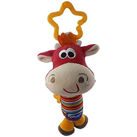 Tintineo De Campanas Colgando Traqueteos Marioneta Cuna Animales Juguetes Para Cochecito De Bebé - Vaca,
