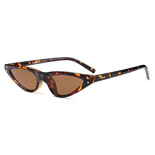Juleya kleine Sonnenbrille Frauen Vintage Sonnenbrillen Cat Eye UV400 C2