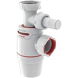 Wirquin - Siphon NEO AIR de lavabo WIRQUIN diamètre 32 mm avec Prise Machine à Laver