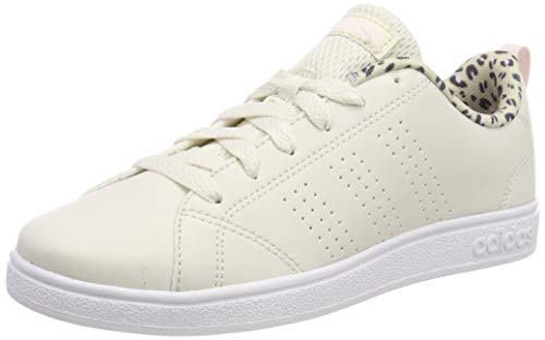 adidas Vs Advantage Cl K, Scarpe da Tennis Unisex Bambini, Bianco Raw Ftwr White, 39 EU