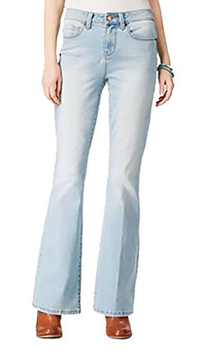 American Rag Jeans, Women's Junior- Deanna Wash, High Rise Flare at The Bottom (3) (Jeans Juniors Flare)