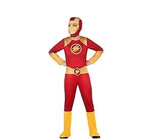 Atosa-56940 Disfraz Héroe Comic, Color Rojo, 3 a 4 años (56940