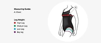 Speedo Female Swimwear Racerback Swimdress with Boyleg