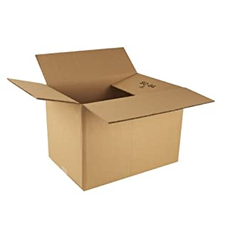 Ambassador Packing Carton Double Wall Strong Flat-packed, 457x305x305mm, Pack of 15 (307688)