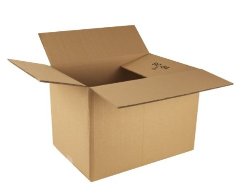 Ambassador Packing Carton Double Wall Strong Flat-packed, 457x305x305mm, Pack of 15 (307688) Test